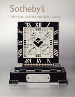 Franklin Roosevelt Cartier Victory Clock Sotheby's 2007 Auction Catalog