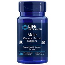 Life Extension Male Vascular Sexual Support - 30 Veg Caps kaempferia parviflora
