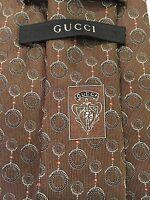 Gucci Italy Woven Silk Men's Classic Dress Tie