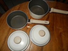 2 CLUB PANS IVORY NICE ONES 7 1/2 X 3 1/2  6 1/2 X 21/2 NO SCRATCHES VERY NICE