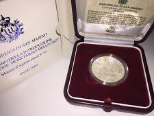 """San Marino 10 Euro 2009 """" EWU 10 Jahre Wirtschaft """" Silber PP proof"""