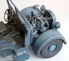 Moteur pour véhicule Allemand HORCH Kfz.15 -Kit résine PLUS MODEL 1/35 - Réf.177