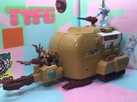 Takara Battle Beasts  Wood Beetle Transport Station  1987  Hasbro With Bat