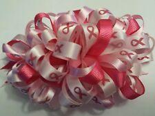 Relay for life hair bows / hair ribbons/ hair clips