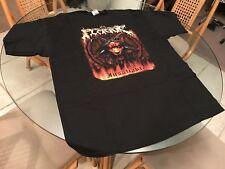 The New Plague Insatiable 2008 2XL T Shirt! (See) Immolation Carcass & Gwar