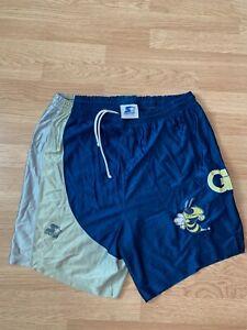 VTG 90's Georgia Tech NCAA collegiate rare starter shorts