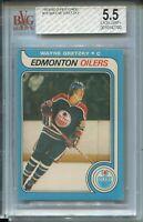 1979 OPC Hockey #18 Wayne Gretzky Rookie Card RC Graded BVG 5.5 O-Pee-Chee '79