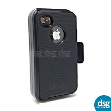 Otterbox Defender Housse pour Apple iPhone 4 4 S Case Rugged Holster Clip Noir
