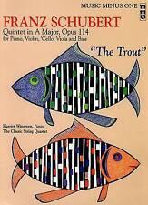 Franz Schubert: Quintet in a Major, Opus 114  The Trout by Hal Leonard...