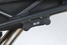 R&G Racing Rear Foot Rest Blanking Plates to fit Triumph Daytona 675 2006-2014