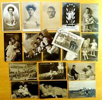 18 Photo Postcards All ROYALTY GERMANY Sons of Kaiser Wilhelm II & Crown Prince