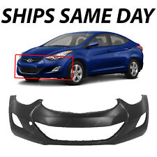 NEW Primered - Front Bumper Cover for 2011-2013 Hyundai Elantra Sedan 865113Y000