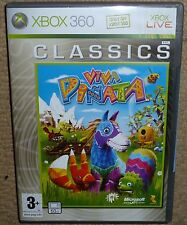 VIVA PINATA VIDEO GAME for MICROSOFT XBOX 360 BRAND NEW & FACTORY SEALED! Boxed