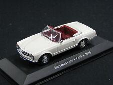 Minichamps Mercedes-Benz 230 SL Cabriolet 1:43 White (JS) Genéve 1999