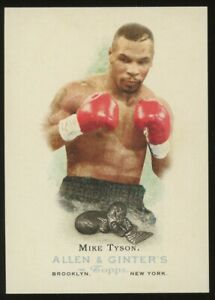 2006 Topps Allen & Ginter Boxing #301 Mike Tyson