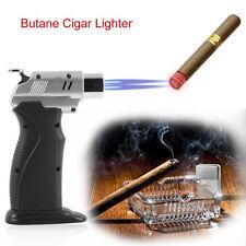 Ignition Inflatable Kitchen Lighter Torch Jet 1300 Degree Butane Cigar Lighter E