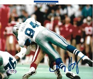 CHARLES HALEY signed autographed DALLAS COWBOYS 8X10 photo w/ COA PSA AI87740