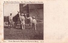 More details for old postcard - dr barnardo's homes .our young migrants in canada .number 4