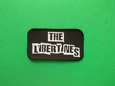 HEAVY METAL PUNK ROCK MUSIC FESTIVAL SEW ON / IRON ON PATCH:- THE LIBERTINES