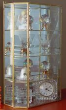 Glass CURIO CABINET for Displaying small Woodland Animals figures figurines