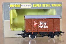 WRENN W4318 BR BROWN PEEK FREANS VENTILATED VAN WAGON B757051 PAINTED BOXED ni