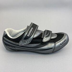 Shimano SPD RT31 Cycling Shoes Grey Black Size EU43 US8.9 UK8