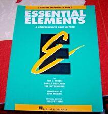 Essential Elements -  Eb BARITONE SAXOPHONE - Book 2
