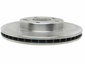 Front Brake Rotor For 2013-2014 Honda Fit EV P566NC Silver -- New
