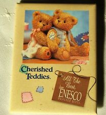 Cherished Teddies All The Best, From Enesco Designed Gifts Pinback Button