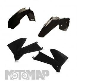 Kit Plastiche Acerbis KTM EXC F EXCF 250 400 450 525 2005 2006 2007 Nero