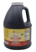 80 OZ (5LB) ORGANIC DATE SYRUP/ CERTIFIED ORGANIC/ NON-GMO/VEGAN/KOSHER