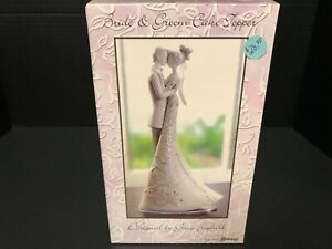 """Wedding Cake Topper Roman By Gina Freehill Bride & Groom First Dance 8 1/2"""""""