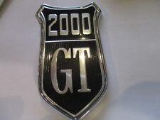 2000 GT Schriftzug Sign Logo Schrift zeichen für Ford