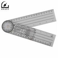 1PC Professional 360 Degree Medical Ruler Multi-Ruler Goniometer Angle Spinal Ru