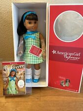 """NEW in Box American Girl 18"""" MELODY Doll with Book Outfit Dark Skin Black Hair"""