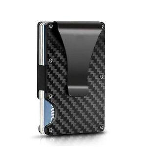 Etui Porte Carte Portefeuille Argent Carte Crédit Monnaie Blocage RFID Unisex