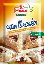 Haas Natural Vanillin Sugar 10 x 8g Sachets BBE 04/2021