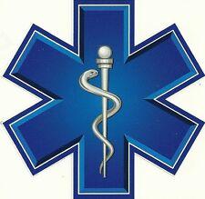 """EMT star of life Magnet 4x4"""""""