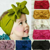 Baby Girl Bow Turban Knotted Headbands Newborn Girls Headband Hair Band Headwear