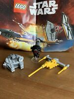 LEGO STAR WARS BUNDLE Millennium Falcon, Probe Droid, Naboo Starfighter