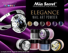 6pcs Mia Secret Professional Nail System ELEGANCE Colloction Authorized Seller