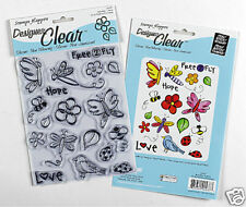 Stamps Happen Clear Rubber Stamp - Butterflies & More