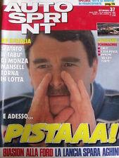 Autosprint 30 1991 Mc Laren Automatica - Bugatti veste definitiva -Senna [SC.50]