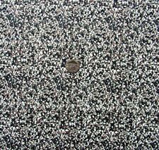 Plage de galets cailloux rougeâtre paysage tissu fq 50 x 56 cm f595-4 100% coton