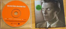 Rare David Bowie Heathen 4 Track Promo Columbia ISO 2002 inc Slow Burn, Sunday