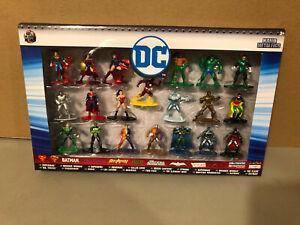 Nano Metalfigs DC Comics diecast Figures 20 Pack Batman, Superman, Robin, Flash