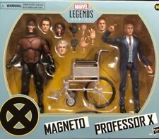 Marvel legends series, X-Men, Magneto and Professor X, toy action figure