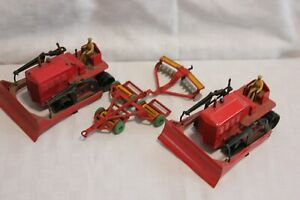 Dinky Tractors plus for spares or repair Corgi Toys Vintage Diecast toy cars
