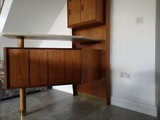 Danish mid century Home Bar & stools
