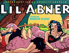 "Li'l Abner Vol 7-1989-Strip Reprints Hard Cover ""Dailies 1941  """